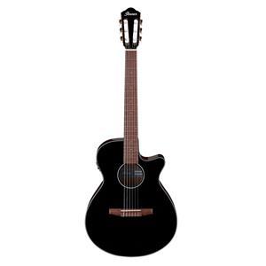 Ibanez AEG50N 6-String Semi-Acoustic Guitar (Black High Gloss)