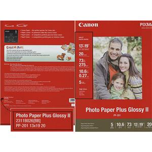 2311b026 Canon Photo Paper Plus Glossy Ii Inkjet Paper 13x19 20