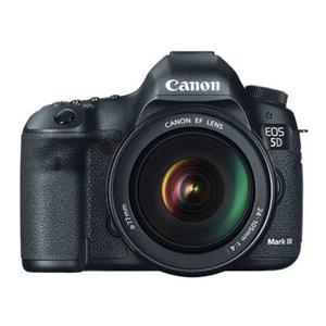 Canon EOS 5D Mark III 22.3MP Full HD 1080p Digital SLR Camera with 24-105mm Lens (Black)