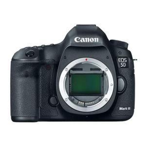 Canon EOS 5D Mark III 22.3MP HD Digital SLR Camera Body (Black) - Manufacturer Refurbished