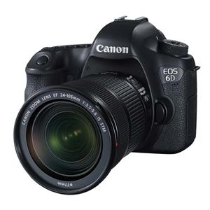 Canon EOS 6D 20.2MP FHD DSLR Camera w/24-105mm Lens