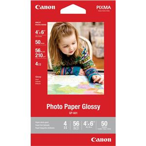 10-Pack of 50-Sheets Canon GP-601 Glossy Photo Paper 4x6