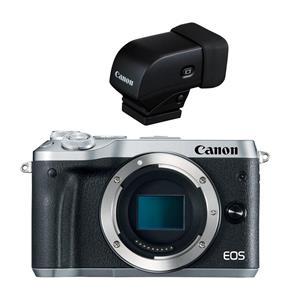 Canon Eos M6 Mirrorless Digital Camera Body Silver W