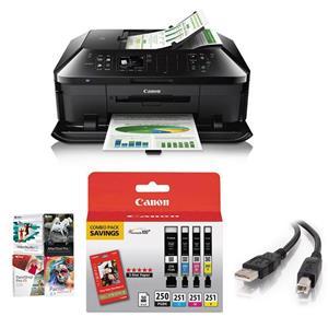 Canon PIXMA MX922 Wireless Office All-in-1 Printer W/PC ...