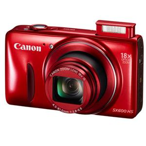 Canon PowerShot SX600 HS 16MP Digital Camera with 18x Optical Zoom - Manufacturer Refurbished