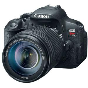 Canon EOS Rebel T5i 18MP DSLR Camera with 18-135mm STM Lens