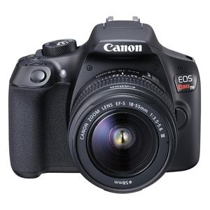Canon EOS Rebel T6 18MP Digital SLR Camera with 18-55mm Lens - Black