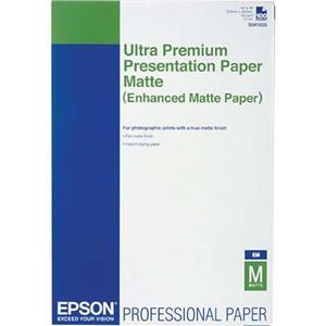 Epson Enhanced Matte Photo Paper (13x19