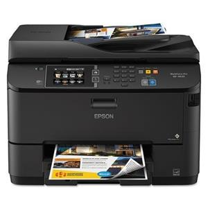 Epson WorkForce WF-4630 Wireless Inkjet All-in-One Printer with Duplex (Black)