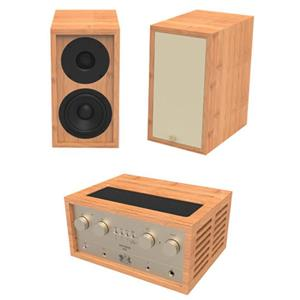 iFi Retro Stereo 50 Vacuum Tube Amplifier with Two LS3.5 Speakers
