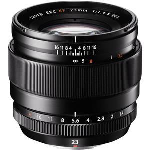 Fujifilm Fujinon XF 23mm F/1.4R Wide-Angle Lens (Black) + $100 Gift Card