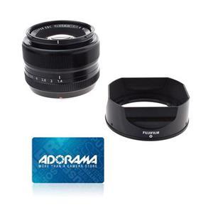 Fujifilm XF 35mm (53mm) F/1.4 Lens + $50 Adorama GC