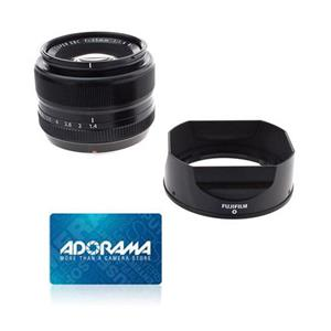 Fujifilm XF 35mm (53mm) F/1.4 Lens + $50 Adorama Gift Card
