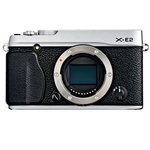 Fujifilm X-E2 16.3MP HD Mirrorless Digital Camera Body + Extra Battery + Half Case + Holster
