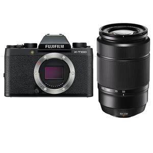 Fujifilm X-T100 Mirrorless 24.2MP Camera W/50-230mm Lens
