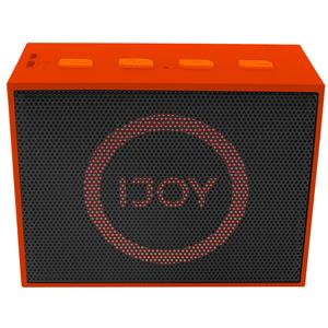 Ijoy The Minimal Mini Wireless Bluetooth Stereo Speaker with LED Dancing Light (Orange)