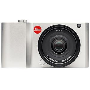 Leica T Silver front view