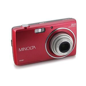 Minolta 5z 20mp Hd Digital Camera W 5x Optical Zoom Red