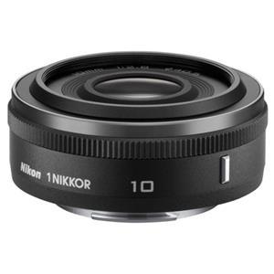 Nikon 1 Nikkor 10mm f/2.8 Lens for Mirrorless Camera System (Black)