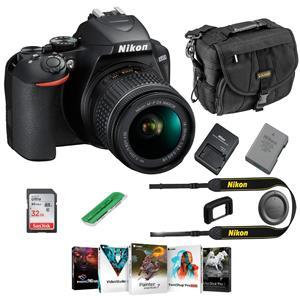Nikon D3500 24mp Dslr Camera Black Af P Dx Nikkor 18 55mm