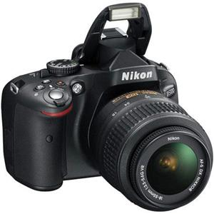 Nikon D5100 16.2MP DSLR Camera w/18-55mm Lens