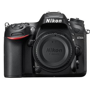 Nikon D7200 24MP HD Digital SLR Camera Body (Black)