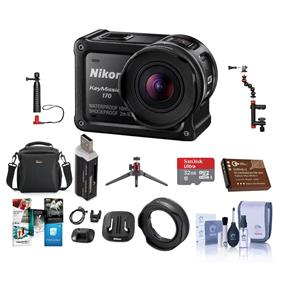 vast selection reputable site designer fashion Nikon KeyMission 170 Action Camera - With Premium Accessory ...