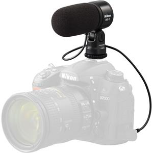 Nikon ME-1 Stereo Microphone Supplied with Wind Screen and Soft Case