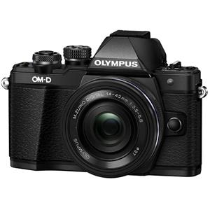 Olympus OM-D E-M10 Mark II 16MP Full HD 1080p Wi-Fi Mirrorless Digital Camera with 14-42mm Lens (Black)