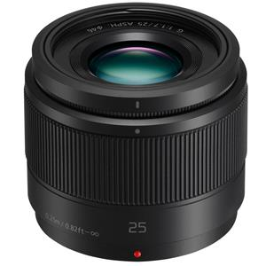 Panasonic Lumix G 25mm f/1.7 Aspherical Lens for Micro 4/3 System