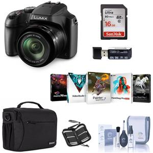 Panasonic Lumix Dc Fz80 Digital Camera With Free Accessory
