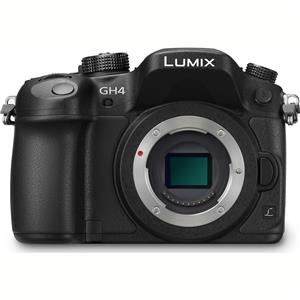 Panasonic Lumix DMC-GH4 16.5MP 4K Mirrorless Digital Camera Body (Black)