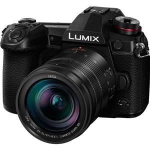Panasonic Lumix G9 20.3MP 4K Ultra HD Wi-Fi Mirrorless Digital Camera with 12-60mm Lens + Panasonic G9 Vertical Battery Grip