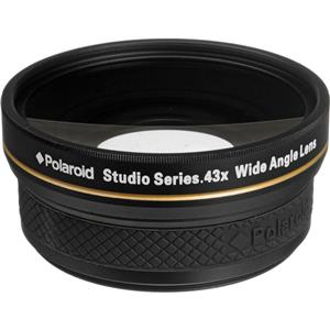 7015f5e477 PL4358W Polaroid Studio Series 58mm 0.43x HD Wide-Angle Converter ...