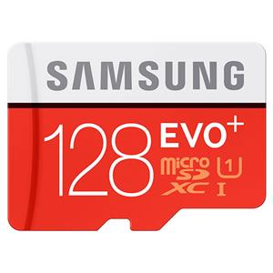 Samsung EVO 128GB UHS-I / Class 10 533x microSDXC Memory Card with Adapter