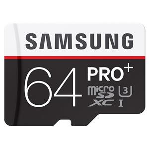 Samsung MB-MD64DA/AM 64GB UHS-I / Class 10 microSDXC Memory Card (Black/White) + Free $20 To Spend Or 8x8 Photo Book