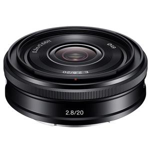 Sony 20mm F2 8 Alpha E Mount Nex Camera Lens Black Sel20f28