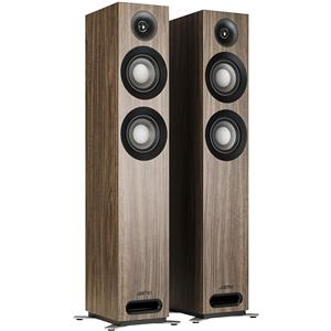 Jamo S 807 Floorstanding Dolby Atmos Ready Speakers (Walnut)