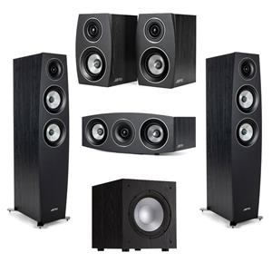 Jamo C 95 II 2-Way Floorstanding Speaker Pair + C 9 CEN II 4