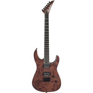 Jackson Pro Series Soloist SL2 Poplar Burl HT Mahogany 6-String Guitar (Carmel Burl)
