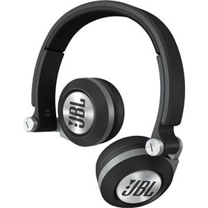 JBL Synchros E30 On-Ear 3.5mm Wired Professional Headphones (Black) - Factory Refurbished