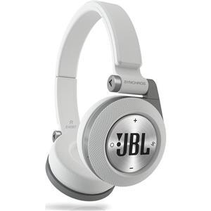JBL Synchros E40BT On-Ear Bluetooth Headphones (White)