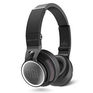 JBL S400BT Synchros Series On-Ear Bluetooth Headphones - Black