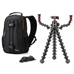 Joby GorillaPod Rig for DSLR Camera with Mic and Light Arms