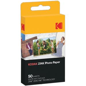 Kodak 2x3 Quot Photo Paper For Zink Printer And Camera 50 Sheets