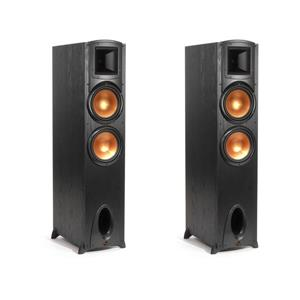 2-Pk Klipsch Synergy Black Label F-300 Floorstanding Speaker w/8