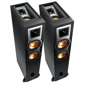 Klipsch R-26FA Dolby Atmos Floorstanding Speaker (Pair) (Black)