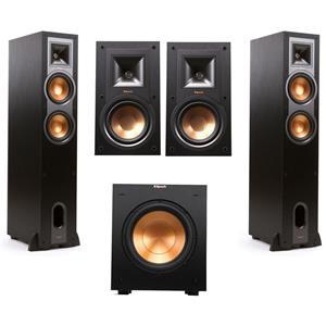 Klipsch R-26F Floorstanding Speaker (Pair) + Klipsch R-10SW 10
