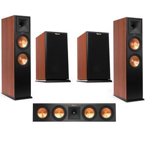 2-Pk. Klipsch RP-280FA Floorstanding Speaker + 2-Pk. Klipsch RP-160M Bookshelf Speaker + Klipsch Center Speaker