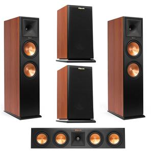 Klipsch RP-280FA Reference Premiere Atmos Floorstanding Speaker + Klipsch Reference RP-280FA Front Speaker + Klipsch RP-440C 2-Way Center Speaker + Klipsch 2-Way Bookshelf Speaker